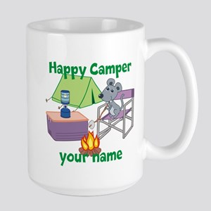 Custom Happy Camper Mouse Mug