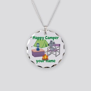 Custom Happy Camper Mouse Necklace