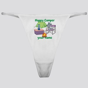 Custom Happy Camper Mouse Classic Thong