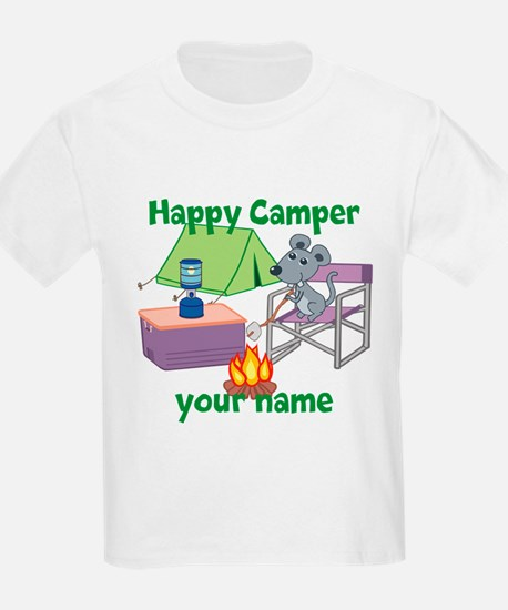 Custom Happy Camper Mouse T-Shirt