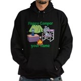 Happy camper mouse Dark Hoodies