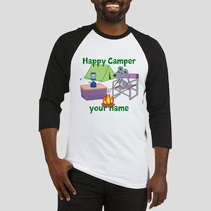 Custom Happy Camper Mouse Baseball Jersey