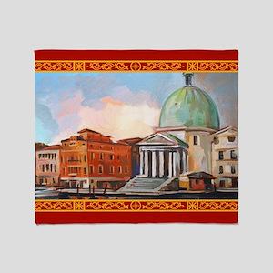 San Simeone Piccolo (Venice) Throw Blanket