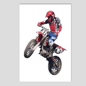 Red Dirt Bike Postcards (Package of 8)