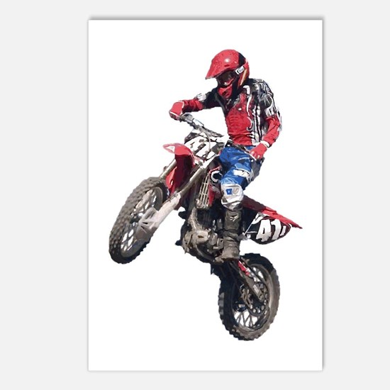 Red Dirt Bike Postcards (Package of 8)