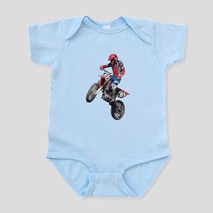 Red Dirt Bike Infant Bodysuit