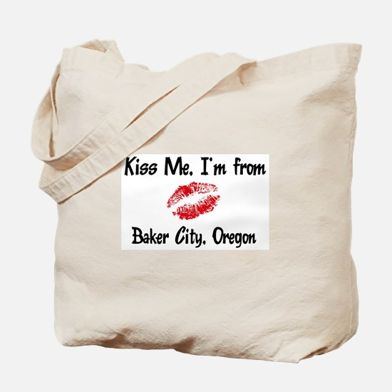 Baker City - Kiss Me Tote Bag