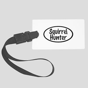 Squirrel Hunter Luggage Tag