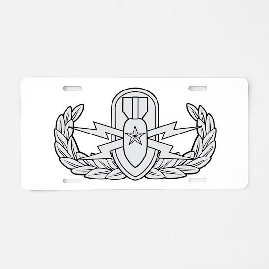 EOD Senior Aluminum License Plate