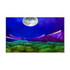 Moon Mountain 22x14 Wall Peel
