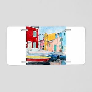 Bruges Venice Italy Aluminum License Plate