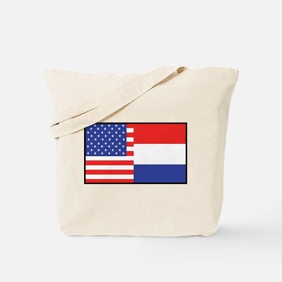 USA/Holland Tote Bag
