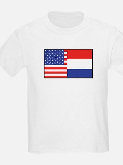 USA/Holland Kids T-Shirt