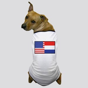 USA/Holland Dog T-Shirt