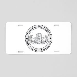 EOD Senior ISoTF Aluminum License Plate