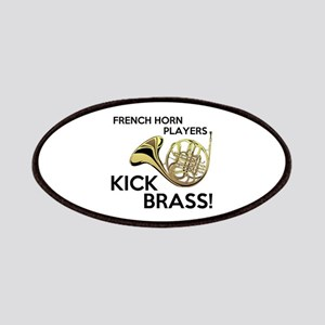 Horn Players Kick Brass Patches