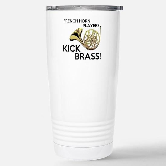 Horn Players Kick Brass Travel Mug