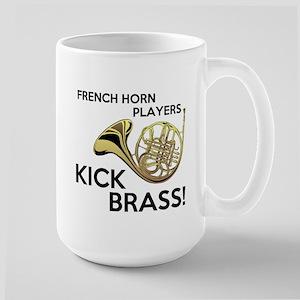 Horn Players Kick Brass Mug