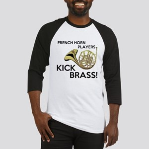 Horn Players Kick Brass Baseball Jersey