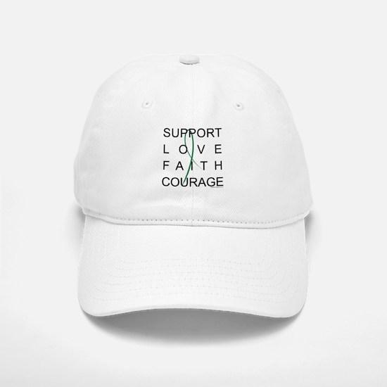 Support Block Text Baseball Baseball Cap