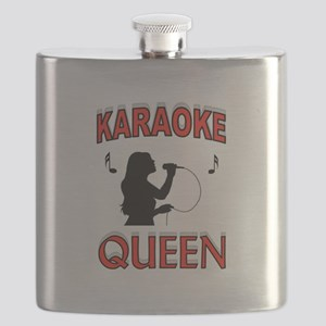 KARAOKE QUEEN Flask