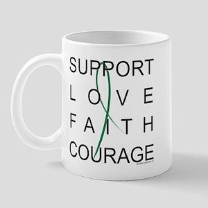 Support Block Text Mug