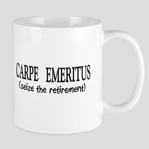Carpe Emeritus Mugs