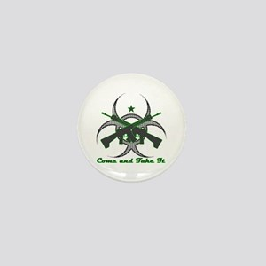 Come and Get It (Biohazard) Mini Button