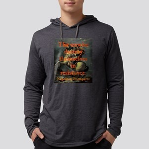 The Unwise Destroy Themselves - Napoleon Mens Hood