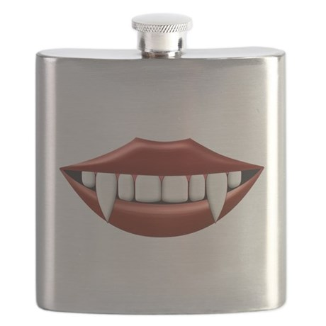Vampire Teeth Sexy Mouth Flask