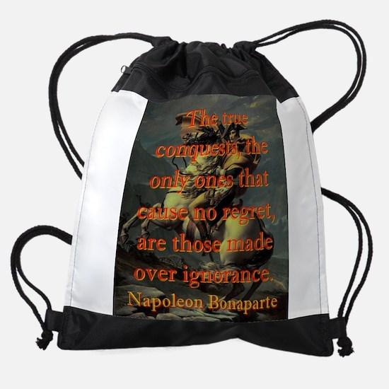 The True Conquests - Napoleon Drawstring Bag