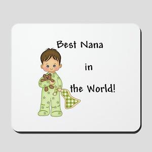 Best Nana in the World Boy Mousepad