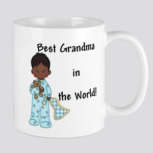 Best Grandma in the World....African American Mug