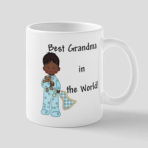 Best Grandma in the World....African American Mug