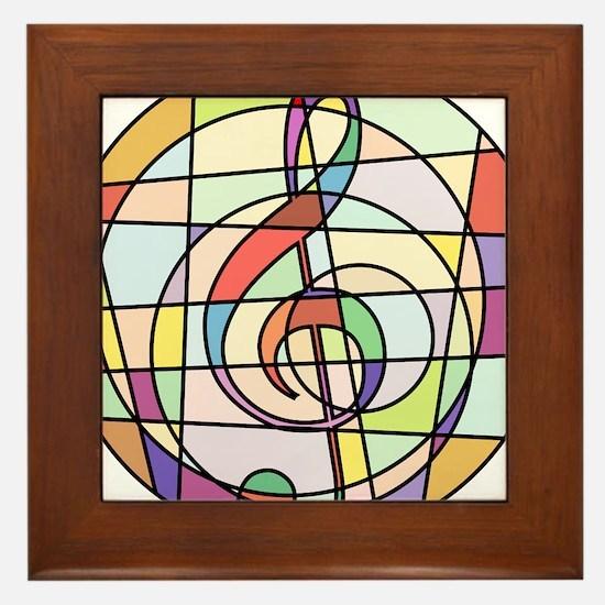 Funny Episcopal Framed Tile