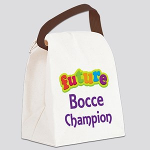 Future Bocce Champion Canvas Lunch Bag