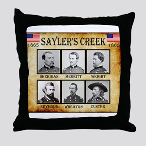 Saylers Creek - Union Throw Pillow