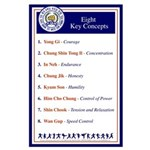 Eight Key Concepts Large Poster