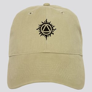 Celtic triad in flames Cap