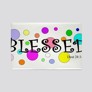Blessed Rectangle Magnet