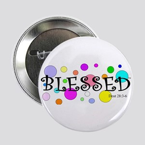 "Blessed 2.25"" Button"
