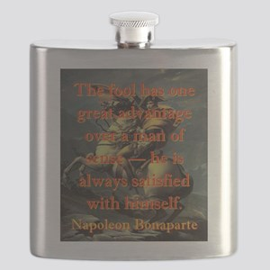 The Fool Has One Great Advantage - Napoleon Flask