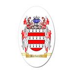 Barbarelli 35x21 Oval Wall Decal