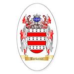 Barbaraci Sticker (Oval 10 pk)