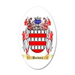 Barbara 35x21 Oval Wall Decal