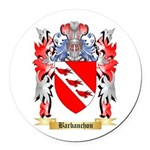 Barbanchon Round Car Magnet