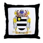 Barbage Throw Pillow