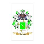 Barbado Sticker (Rectangle)