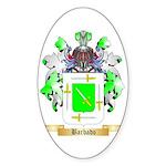 Barbado Sticker (Oval 50 pk)