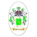 Barbacci Sticker (Oval 50 pk)